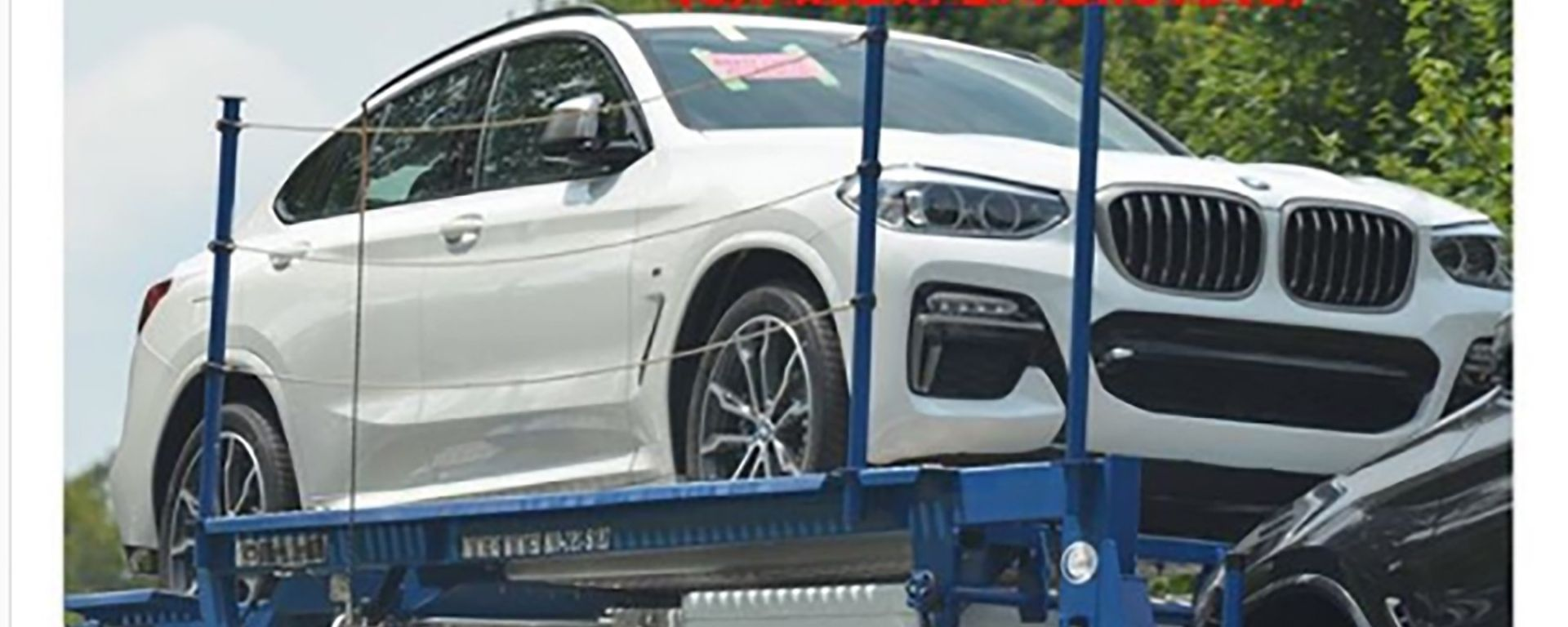 BMW X4: le foto spia