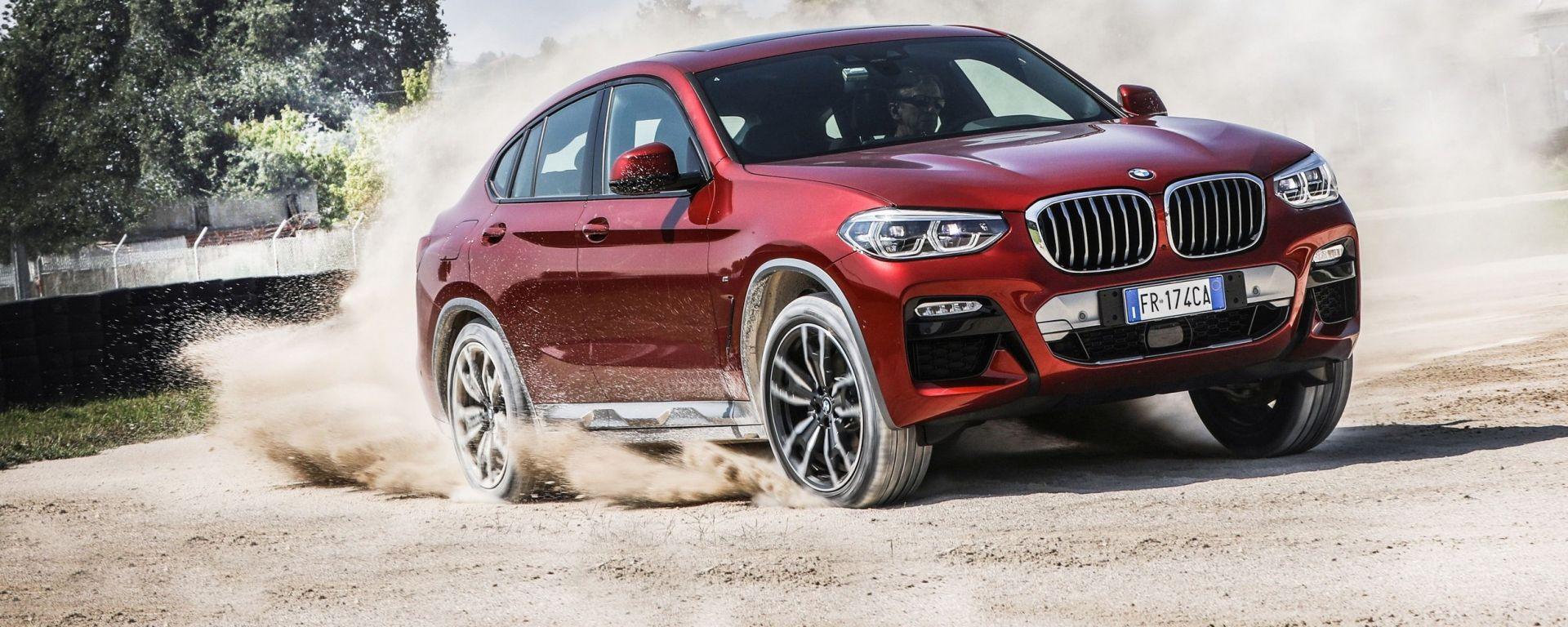 Nuova BMW X4 2019: la prova su strada. Ecco come cambia