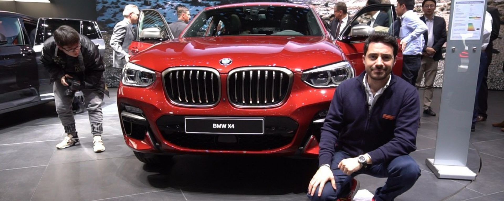 Nuova BMW X4 Coupé, Live Salone di Ginevra 2018