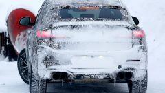 Nuova Bmw X4 M: le foto spia durante i test invernali - Immagine: 7
