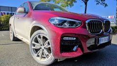 Nuova BMW X4 xDrive 20d: in prova sullo sterrato di Misano