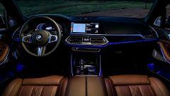 Nuova BMW X5 2018: gli interni