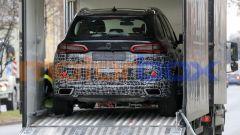 Nuova BMW X5 2021: il posteriore