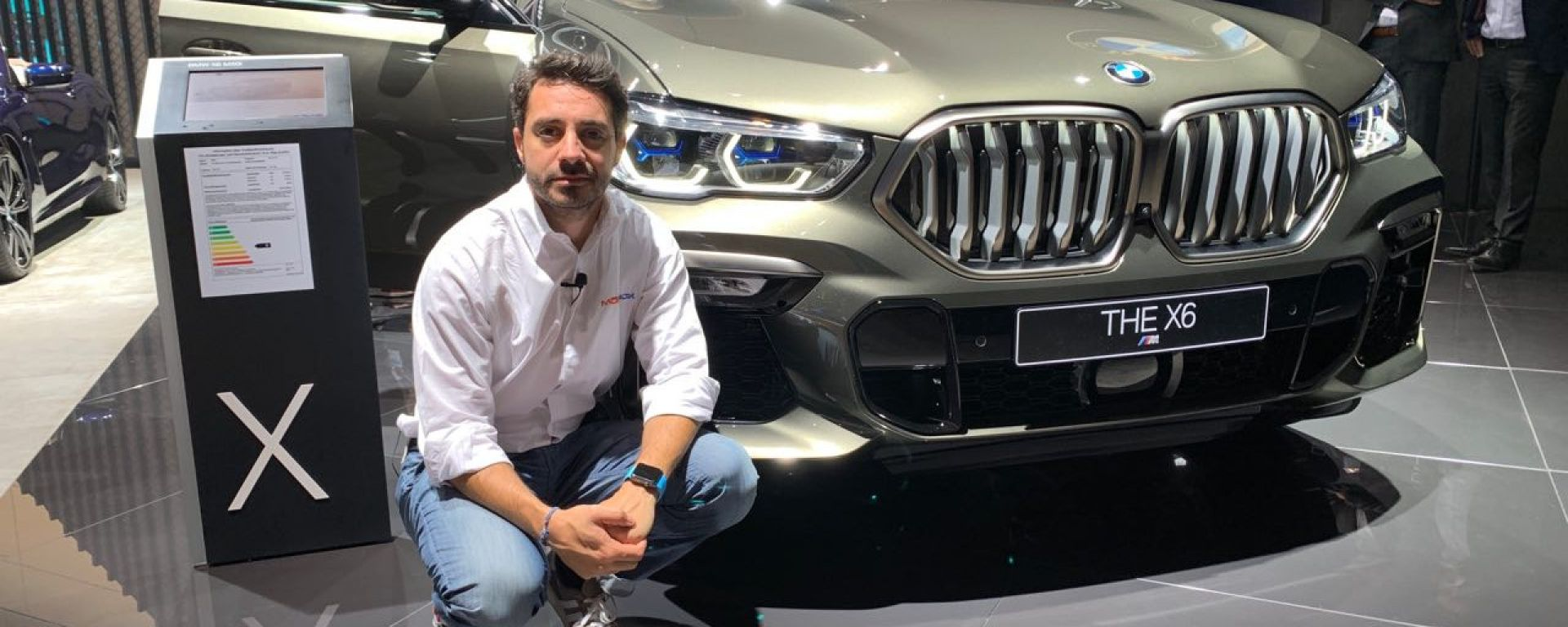 Nuova BMW X6, in video dal Salone di Francoforte 2019