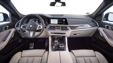Nuova BMW X6, gli interni