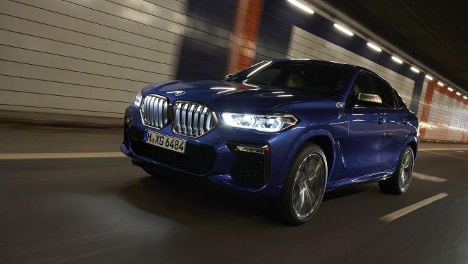 Nuova BMW X6, grinta da vendere sin dal ''vestito''