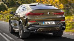 Nuova BMW X6, il posteriore