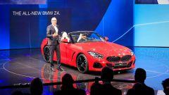 Nuova BMW Z4: in video dal Salone di Parigi 2018 - Immagine: 17