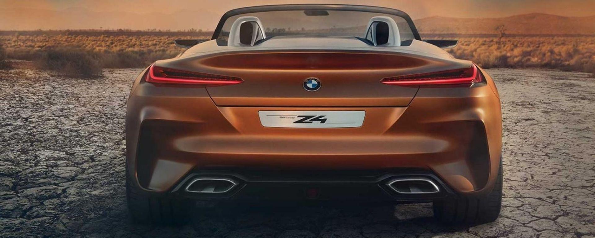 Nuova BMW Z4 2019, tutto quello che sappiamo già