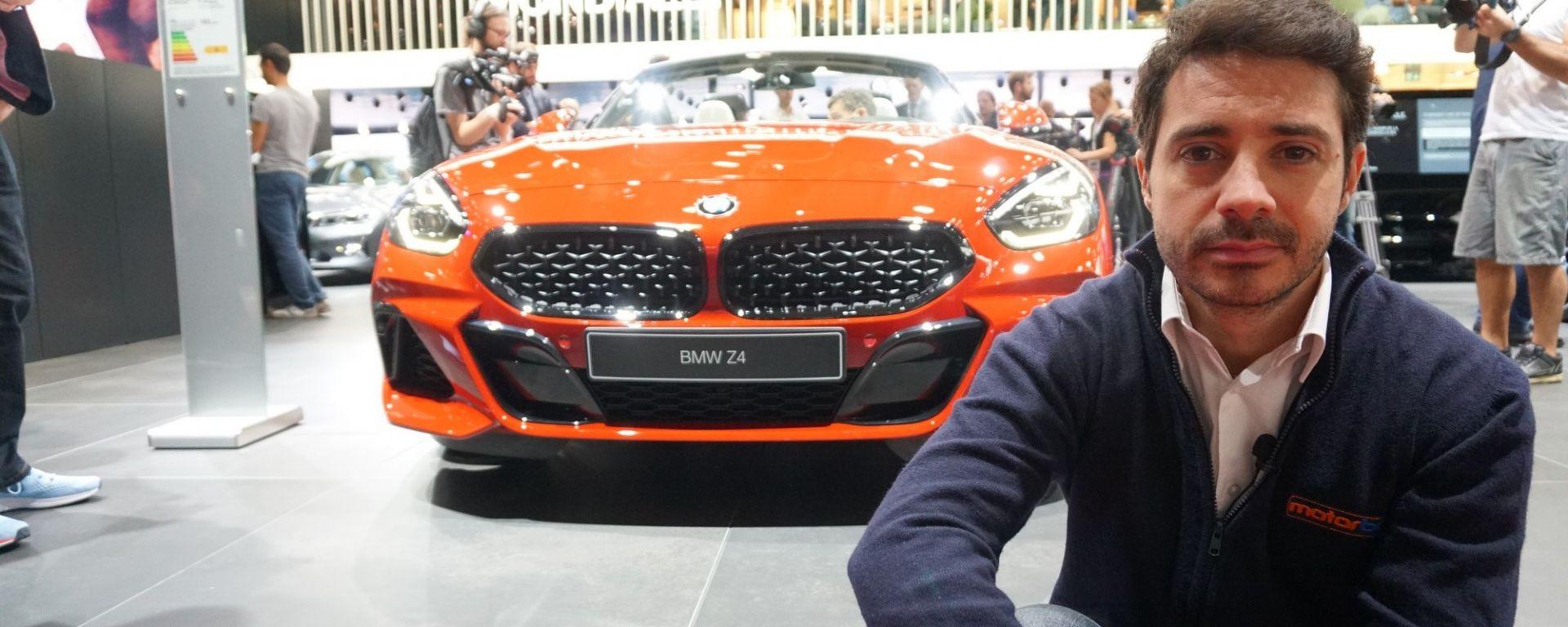 Nuova BMW Z4, anteprima mondiale al Salone di Parigi 2018