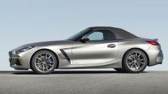 Nuova BMW Z4 roadster 2019 a tetto chiuso