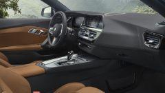 Nuova BMW Z4 roadster 2019, gli interni