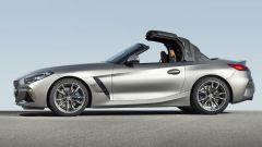 Nuova BMW Z4 roadster 2019, la capote è in tela