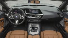 Nuova BMW Z4 roadster 2019, la plancia