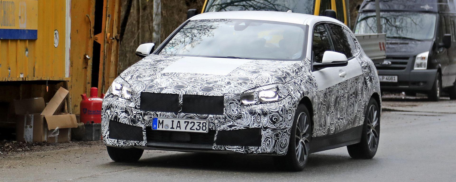 Nuova BMW Serie 1: debutto imminente, arriva a Ginevra?