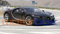 Nuova Bugatti Chiron, con elementi presi da diversi modelli