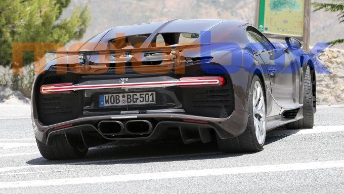 Nuova Bugatti Chiron: il motore dovrebbe essere il