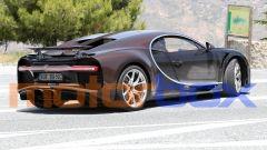 Nuova Bugatti Chiron: scarico posteriore inedito