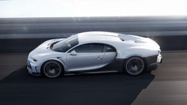 Nuova Bugatti Chiron Super Sport: design scolpito in galleria del vento