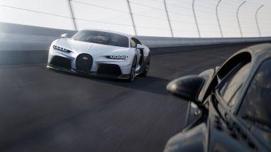 Nuova Bugatti Chiron Super Sport: motore da 1.600 CV