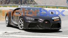Nuova Bugatti Chiron: visuale anteriore