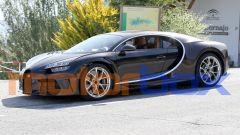 Nuova Bugatti Chiron: visuale di 3/4 anteriore