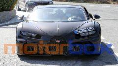 Nuova Bugatti Chiron: visuale frontale
