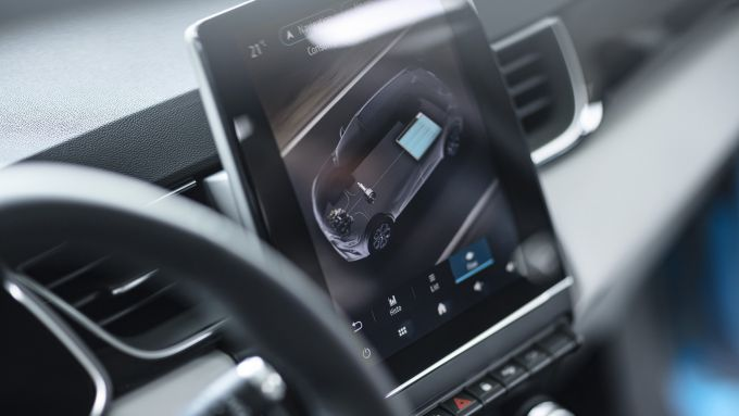 Nuova Captur Hybrid: tre modalità di guida