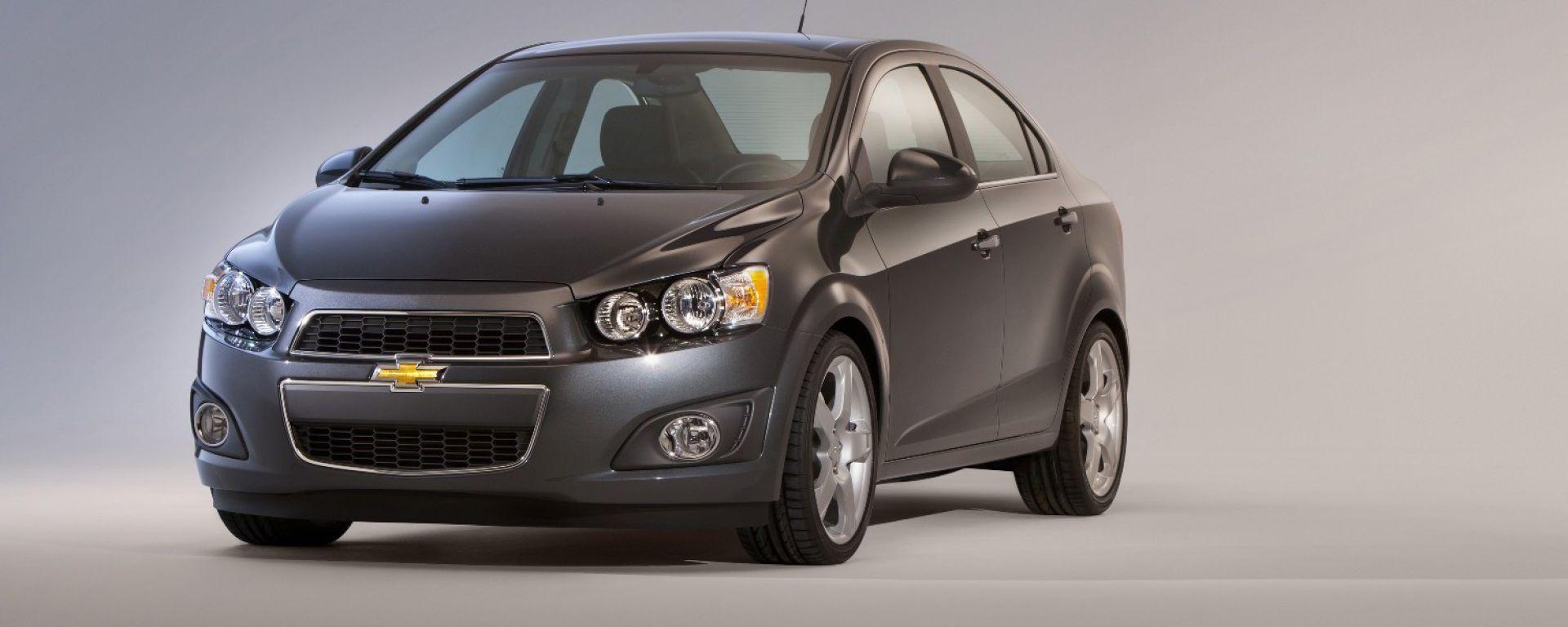 Nuova Chevrolet Sonic/Aveo