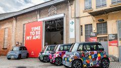 Nuova Citroen AMI 100% electric: alcune colorazioni dedicate ai quartieri di Parigi