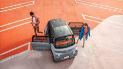 Nuova Citroen AMI 100% electric: le portiere si aprono asimmetricamente