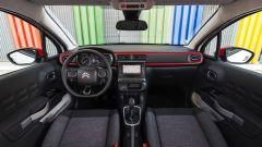 Nuova Citroen C3 2016: gli interni rossoneri