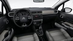 Nuova Citroen C3 2016, gli interni