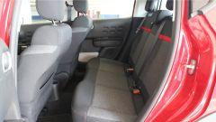 Nuova Citroen C3 2017 - il divanetto posteriore