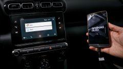 Nuova Citroen C3 Aircross 2017: collegamenti con Android Auto, Apple Car Play e Mirror Link