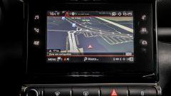 Nuova Citroen C3 Aircross 2017: lo schermo dell'infotainment da 7 pollici
