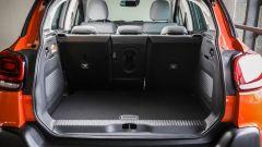 Nuova Citroen C3 Aircross: il bagagliaio va da 410 litri sino a 1.289 litri.