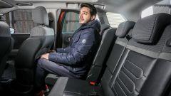 Nuova Citroen C3 Aircross: la panca posteriore scorrevole