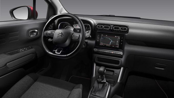 Nuova Citroen C3 Aircross: la plancia completa della C-Series