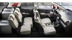 Nuova Citroen C3 Aircross: sedili