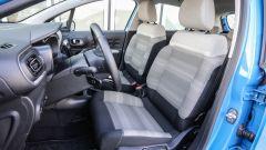 Nuova Citroen C3: gli interni