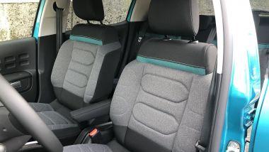Nuova Citroen C3: i sedili Advanced Comfort con imbottitura speciale
