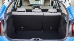 Nuova Citroen C3: il bagagliaio va da 300 a 1.300 litri