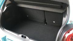 Nuova Citroen C3: il vano bagagli è profondo, lo schienale posteriore è divisibile 60:40