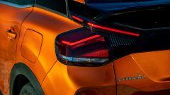 Nuova Citroen C4 2021: un dettaglio dei fari posteriori a LED