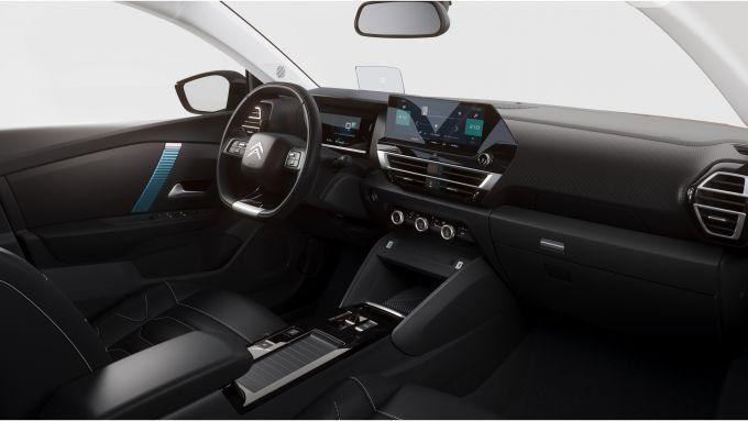 Nuova Citroen C4: gli interni