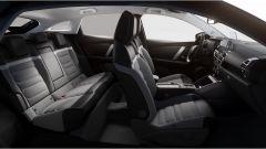 Nuova Citroen C4: l'abitacolo anteriore e posteriore