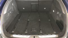 Nuova Citroën C5 X: il vano bagagli