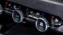 Nuova Citroen e-C4: i comandi per la regolazione del climatizzatore bi-zona