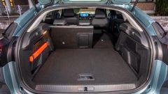 Nuova Citroen e-C4: il bagagliaio ha la stessa capacità della nuova C4 con motore convenzionale